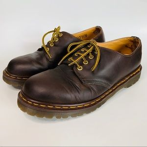 Dr Martens 1561 Eye Gibson Brown Oxford Shoes
